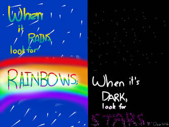 There's always a bright side (quote 2) by Vivyteal