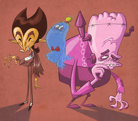 Cereal Monsters by JeffVictor