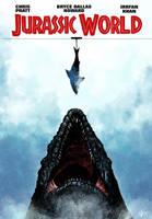 Jurassic world poster redesign by JeffVictor