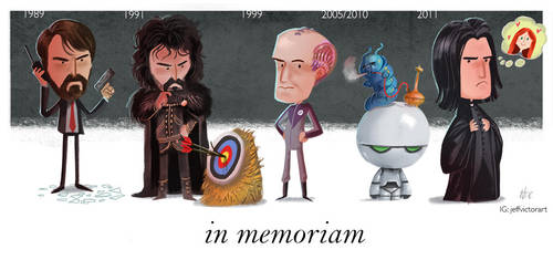 Tribute to Alan Rickman by JeffVictor