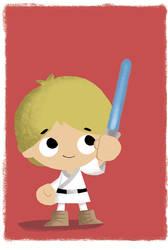 Luke Skywalker: Bubblehead by JeffVictor