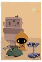 Droids for Sale by JeffVictor