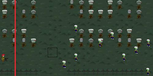 Zombie Survival Game by PokePaladinKyo