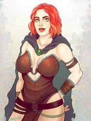 warrioress Tyra by myks0