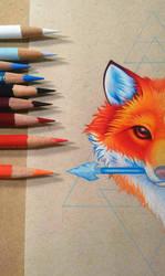 Fox Face - WIP by dannii-jo
