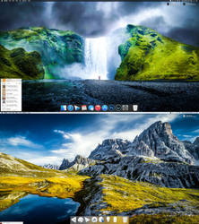 OS X Yosemite October 2014 by AaronOlive