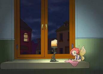 My Window ..School Project.. by LumiKin