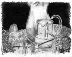 Tight Shiny Drawing by dammitxsara