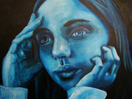 Blue Jenna by dammitxsara