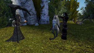 part 3 of the werewolf story. by SkullsKnight