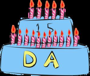 Happy birthday Deviantart by gamergecko26