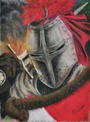 Feral Knight by MicheleHansen