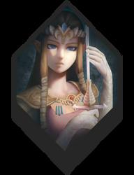 Zelda | Twilight Princess by TheridonGrey