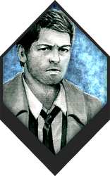 Castiel | Supernatural by TheridonGrey