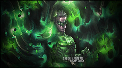 Green Lantern by Freezmy
