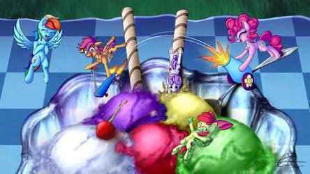 Ice Cream Party by Calenita