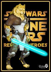 Clone Wars, Shistavanen Jedi. by JohnGWolf