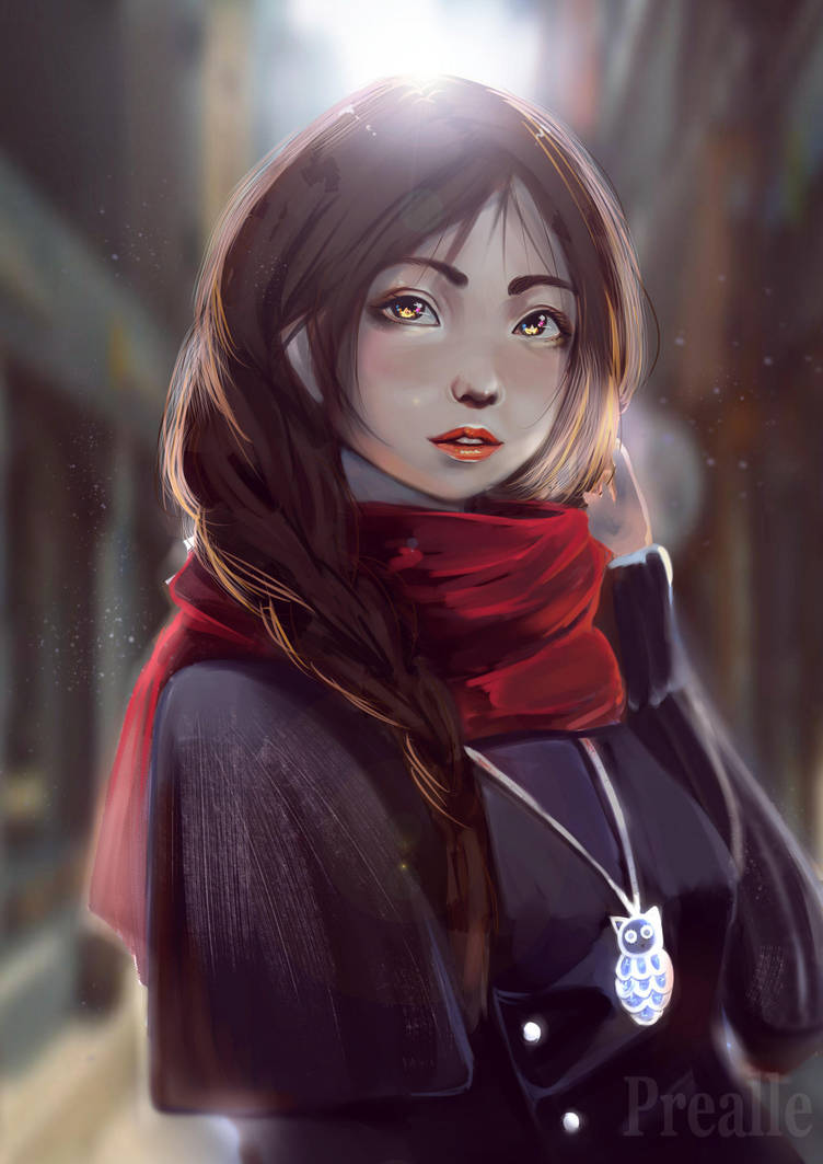Cold Walk by Prealle