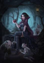 Dark Snow White by Felicerealism