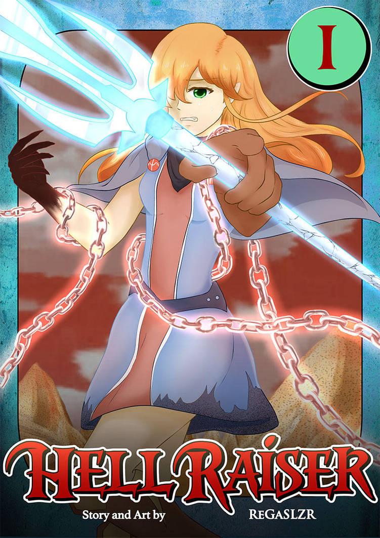 [COVER] HellRaiser (NEW manga project!) by Zarashi99