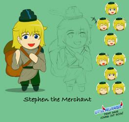 [LHR: Pudding Hunt] Stephen the Merchant (Base) by Zarashi99