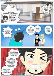 [Mini Comic] Horrible Blinking ft. TobyFredson by Zarashi99