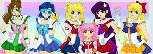 Sailor Senshi by Sailor-Serenity