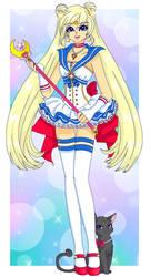 Contest: Modern Sailor Moon by Sailor-Serenity