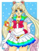 Super Sailor Moon by Sailor-Serenity
