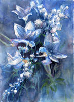Flower Fairies by dragonarts