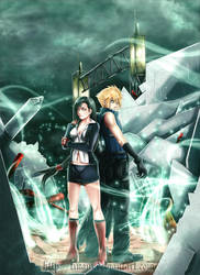 Commission Final Fantasy VII by Tinani