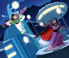 Buzz VS Zurg by DrZime