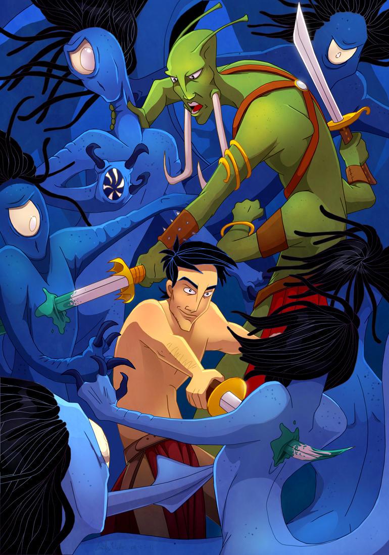 Gods of Mars by DrZime