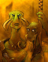 Tars Tarkas and Sola by DrZime