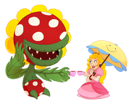 Petey and Peach by DrZime