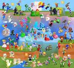 Super Mario Suits Collaboration by DrZime