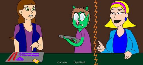 Muppet Version 64 (HappytimeMurders fanart)(pt4) by G-Crepin