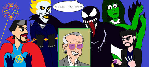 Muppet Version 78 (Stan Lee tribute) by G-Crepin