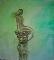 Mermaid of Atlantis wip1 by dashinvaine
