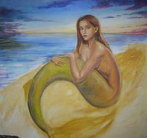 Dusk Mermaid wip by dashinvaine