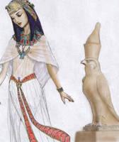 Nefertari, wip by dashinvaine