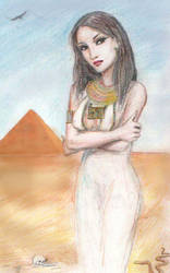 Egyptian Princess by dashinvaine