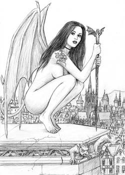 Are sexy nude demon girls