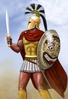 Leonidas v1 Corintian Helmet by dashinvaine