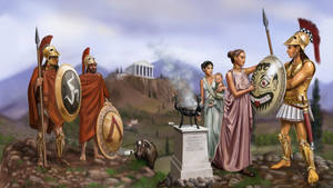The Greek Thing by dashinvaine