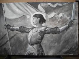 Joan of Arc wip by dashinvaine