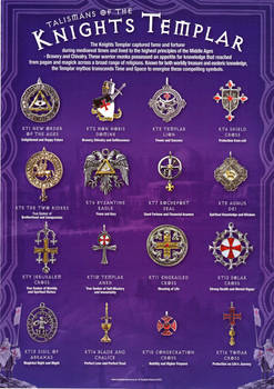 Talismans of the Knights Templar by dashinvaine