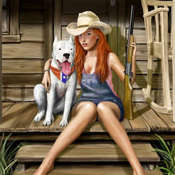 Southern Girl by dashinvaine