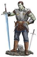 Half Orc Dude by dashinvaine