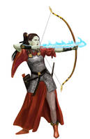 Orc Archeress by dashinvaine